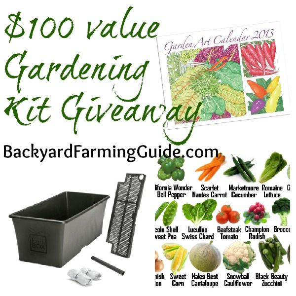 Backyard Farming Guide : Backyard Farming Guide Garden Pack Giveaway! #garden #giveaway #