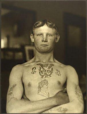 German Stowaway Immigrant, Ellis Island NY. 1909