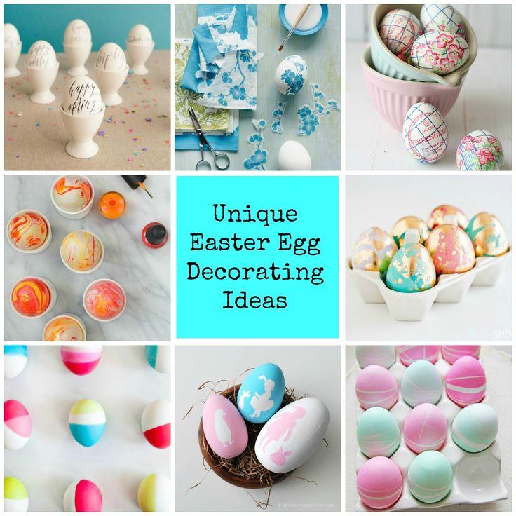 Easter Egg Decorating Ideas Diy Diy Tutorials Recipes