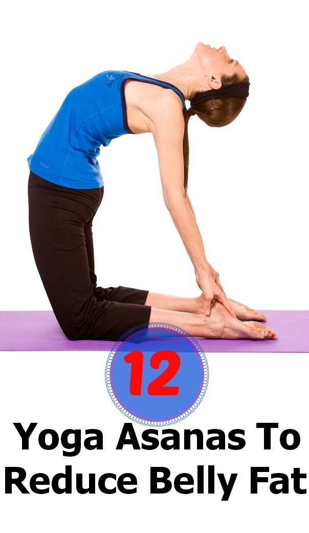 12 Simple Yoga Asanas To Reduce Belly Fat Bye Asana And