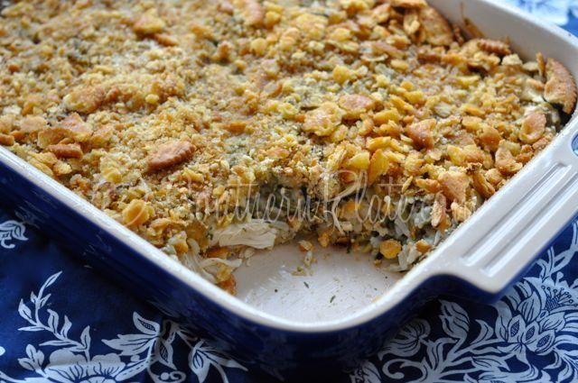 Chicken and Wild Rice Casserole – and Becoming The Crazy Daffodil ...