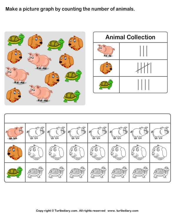 Grade Fun Math Puzzle Worksheet Along With Pictograph Worksheets Grade ...