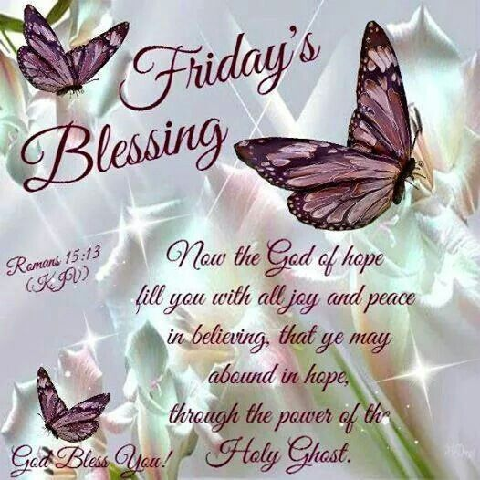 Tgif Blessings Quotes Quotesgram
