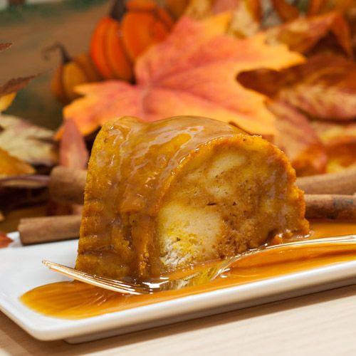 pumpkin bread pudding | Desserts n'stuff. | Pinterest
