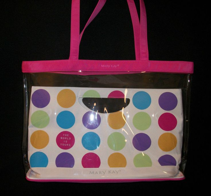 MARY KAY *The World Is Yours* 2 Bags/Totes in 1 *Seminar 2005* New Without Tags! $39.97 obo (Free S&H)
