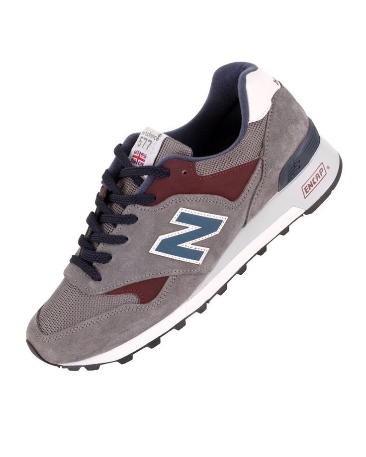 NEW BALANCE 577 (GREY/BURGUNDY)