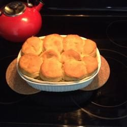 Mom's Fabulous Chicken Pot Pie with Biscuit Crust Allrecipes.com. Made ...