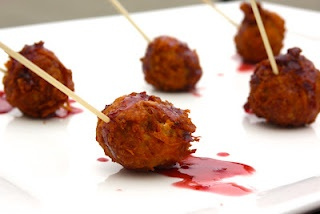 ... caramel balls deep fried and served on a stick. #yummy #fried #food