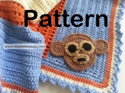 Crochet Baby Monkey Hat Pattern Set - Yarnovations