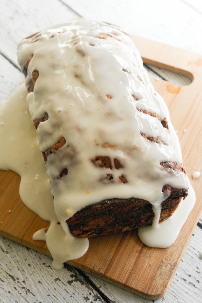 Brown Sugar Almond Poundcake with Cherry Cream Cheese Swirl