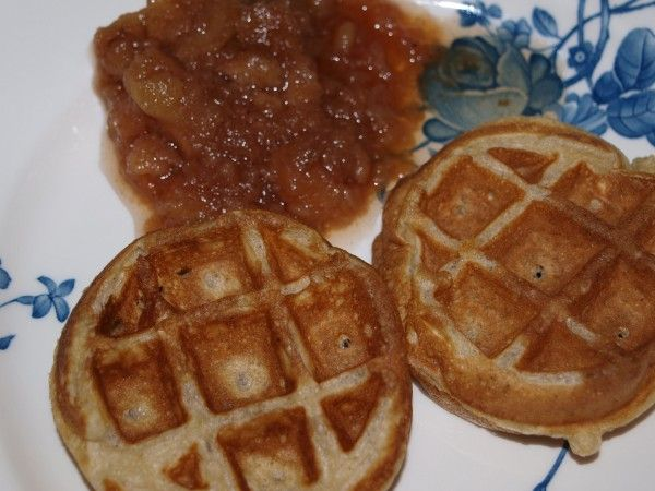 Cinnamon Belgian Waffles - freezer friendly. Great for quick ...