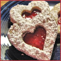 Pecan Linzer Cookies with Lingonberry Filling Recipe by gapersblock # ...