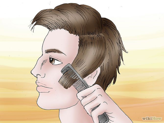 How To Cut Your Own Hair For Man Male Models Picture