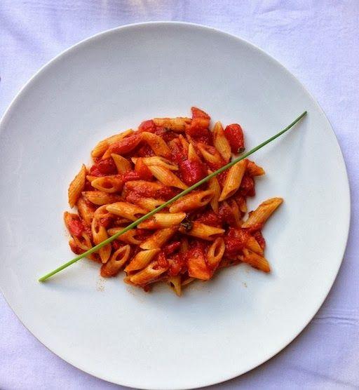 Spicy Penne Pasta | Eat = seja feliz | Pinterest