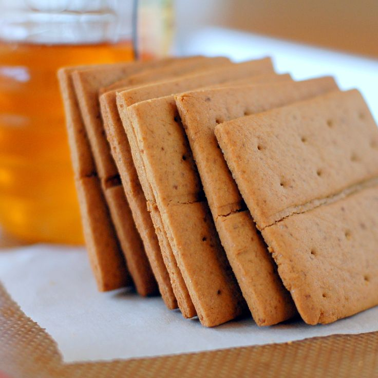 Gluten Free -Honey Graham Crackers | Crackers - Gluten Free | Pintere ...