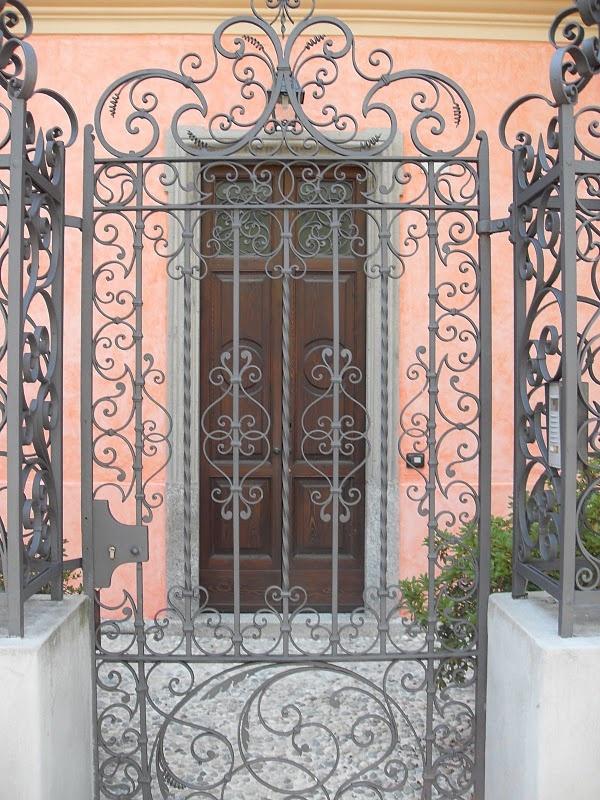 Beautiful Wrought Iron Gate Home Pinterest
