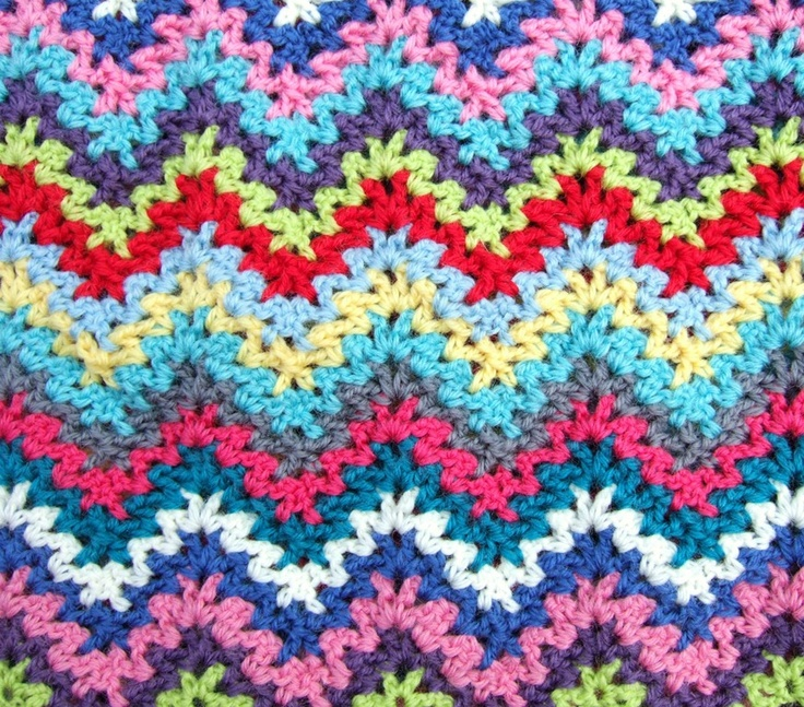 Crochet Zig Zag : Zig zag crochet. Crochet Pinterest