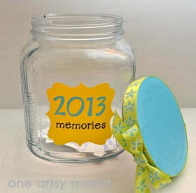Memory jar-cool things to do with kids