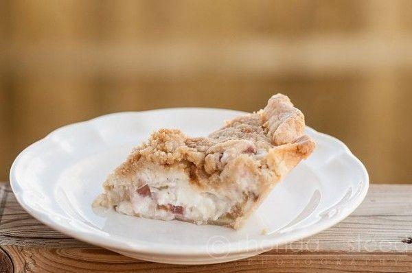 Rhubarb Sour Cream Pie | Recipes | Pinterest