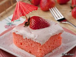 be tickled pink when you try our easy Pink Lady Cake. Made with cake ...