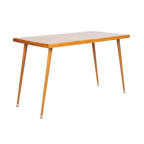 Mid Century Inspired Simple Study Desk by OrWaDesigns on Etsy, $275.00