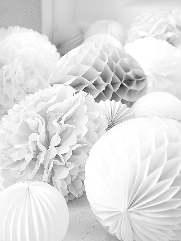 http://www.pinterest.com/malibuespana/color-malibu-blanco-puro/ Witte versiering