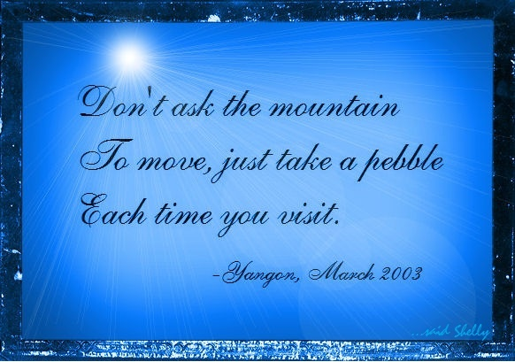 moving mountains inspirational quotes quotesgram