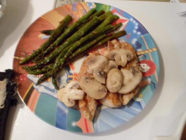 ... sauce along with baked asparagus with balsamic butter sauce. 240