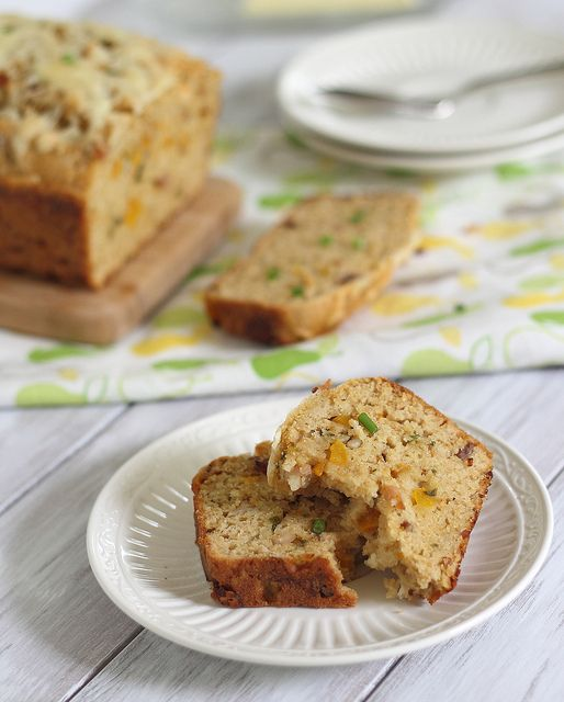Loaded Cheddar-Bacon Bread.....quick beer bread with bacon, cheddar ...