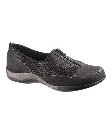 Take a look at this Black Landon Shoe - Women by Soft Style by Hush