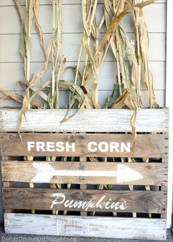 Fall Pallet Signs