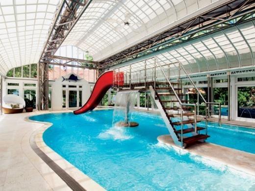 Amazing Indoor Pool New York A Pools Paradise Pinterest