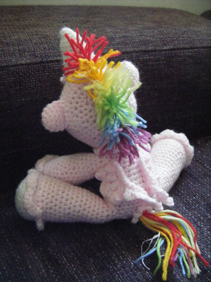 crochet unicorn pattern Crochet Pinterest