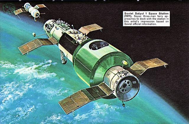 salyut 1 space station illustration - photo #21