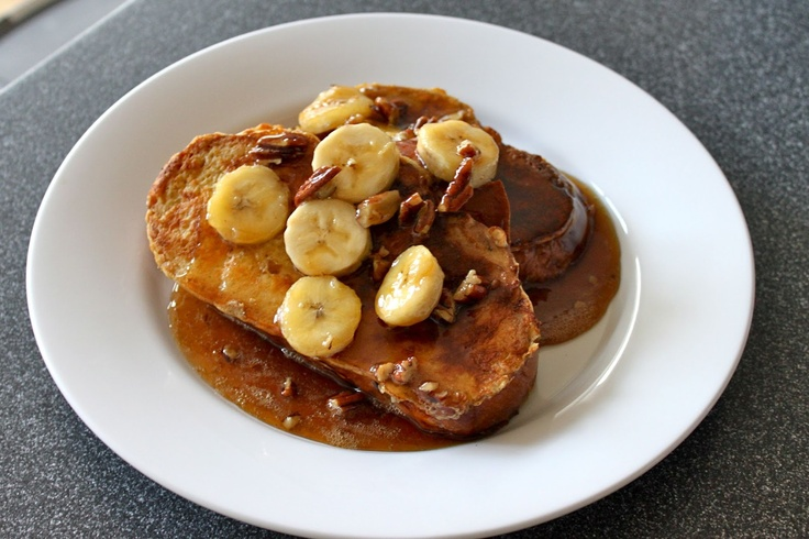 Bananas Foster French Toast | Recipes to try | Pinterest
