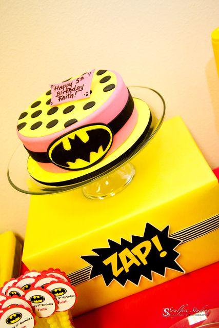 "Photo 1 of 31: Super Heroes, Batman, Batgirl / Birthday ""Faith's 5th Batman/Batgirl Party"" | Catch My Party"