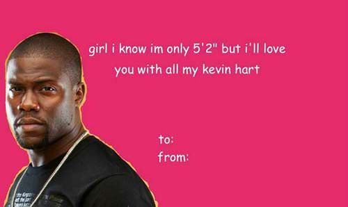 kevin hart valentine's day candy