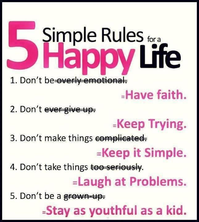 Inspirational Quotes About a Happy Life