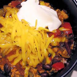 Laura's Quick Slow Cooker Turkey Chili | Recipe