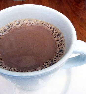 Coconut Hot Chocolate | Quenching the Thirst | Pinterest