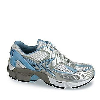 Get customizable Mozaic pressure relief in Aetrex Women's Edge Runner Shoes