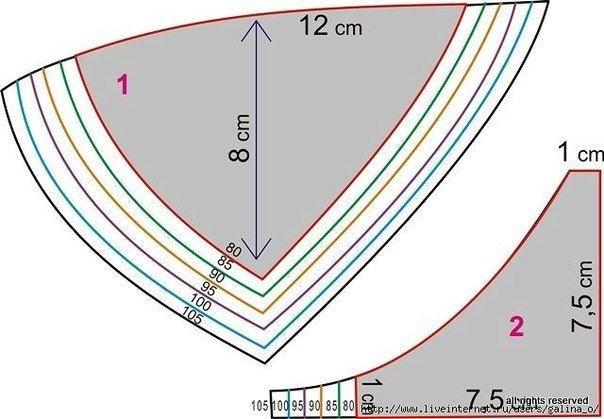 Как сшить белье из кружева выкройка 307
