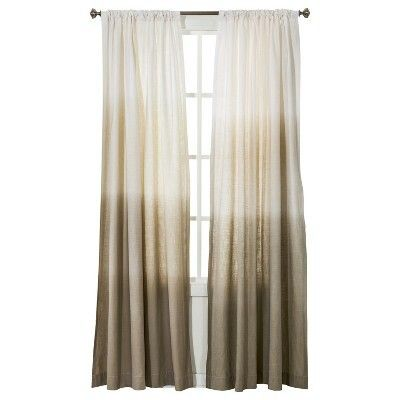 Ombre Curtains From Target For The Home Pinterest