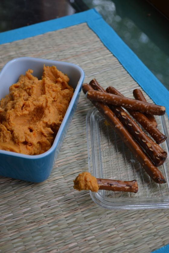 Spiced Sweet Potato Hummus. Oh my this sounds unbelievable!!!