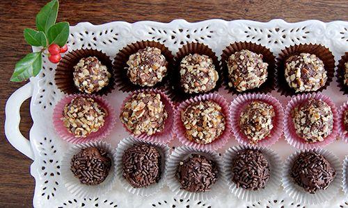 Bourbon pecan truffles | Cooking | Pinterest