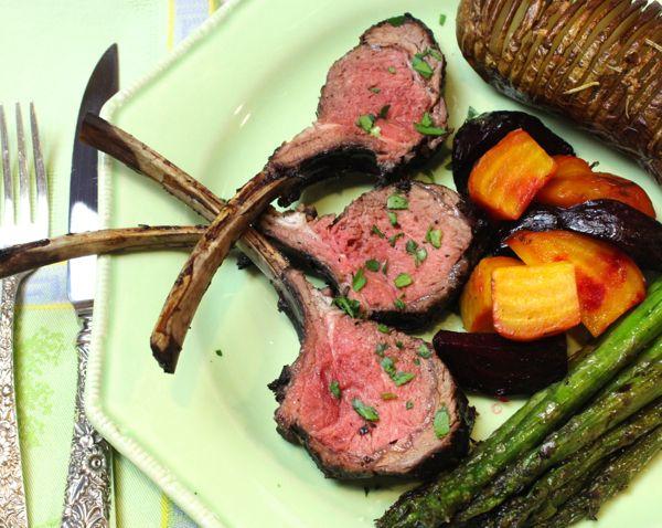 Red Wine-Garlic-Rosemary-Orange-Mint-Marinated Grilled Lamb Chops | R ...