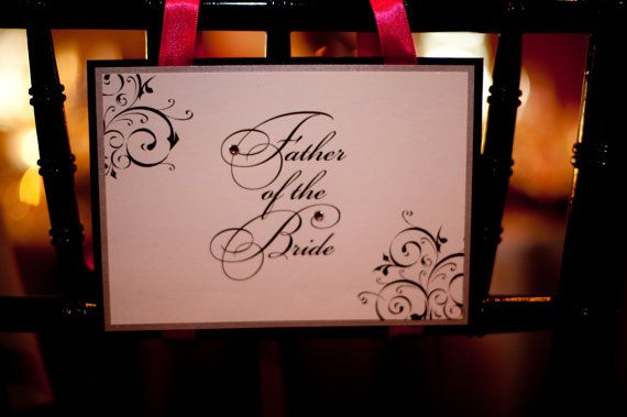 Custom wedding chair signs by jaxdesigns27 on etsy 6 50