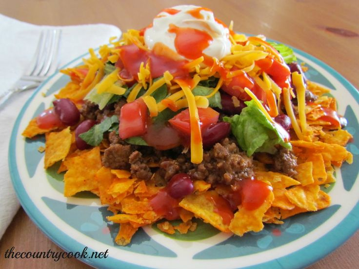 Fiesta Taco Salad | Food and Drink