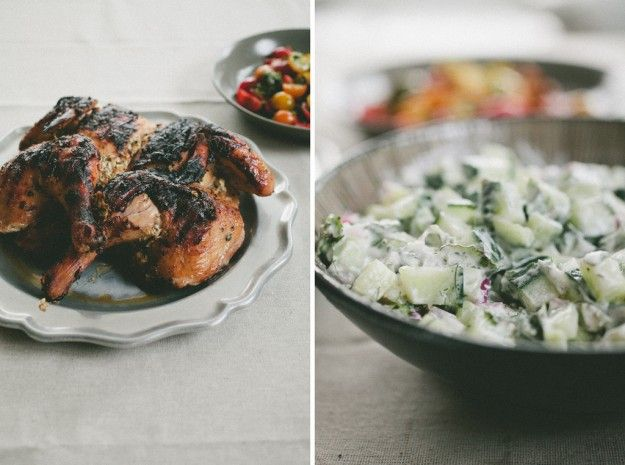 Greek Grilled Chicken with Tzatziki | Eat and Sip | Pinterest
