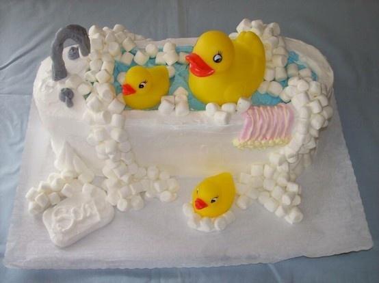 baby shower rubber ducky cake cake ideas pinterest